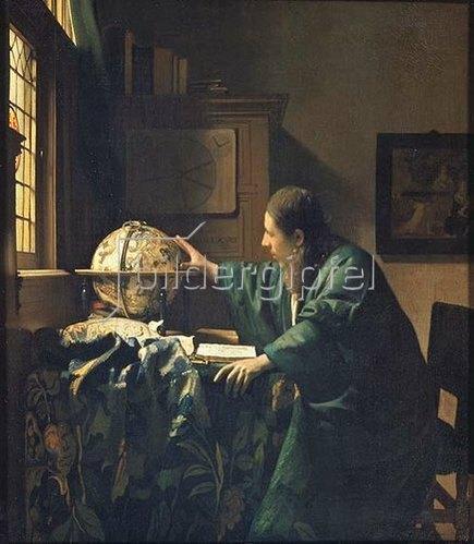 Jan Vermeer van Delft: Der Astronom. 1668.