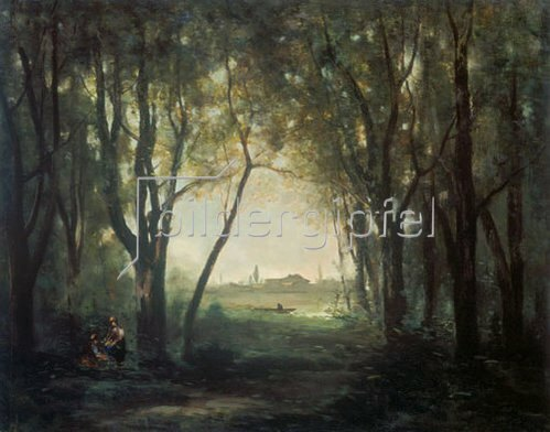 Jean-Baptiste Camille Corot: Der Teich. 1860/1873.