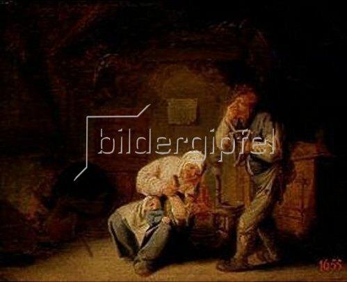 Adriaen van Ostade: Der Geruch. 1635.