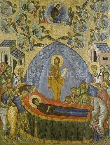 Ikone russisch: Himmelfahrt Mariae.