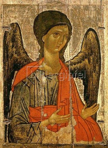 Ikone russisch: Erzengel Michael.