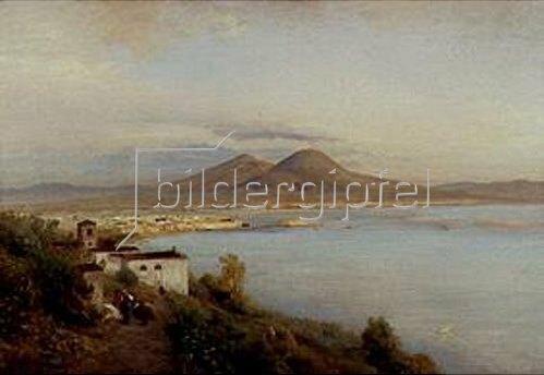 Albert Flamm: Bucht von Neapel.