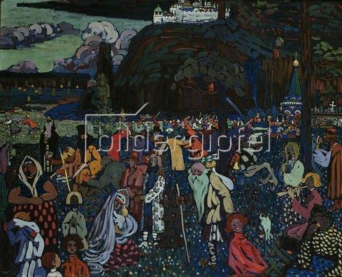 Wassily Kandinsky: Das bunte Leben. 1907
