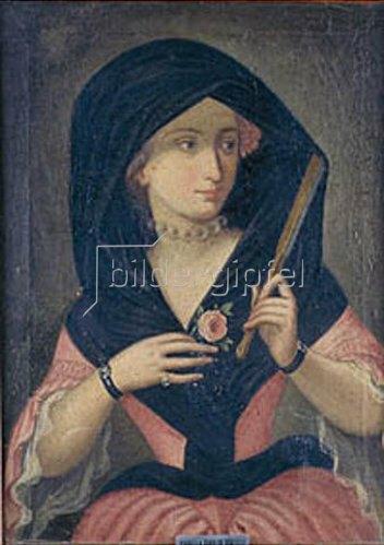 Anonym: Bildnis der Isabella Zoppi de Prozelli.