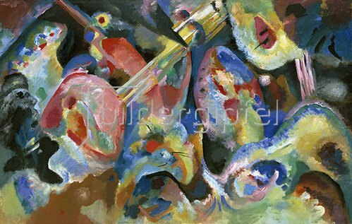Wassily Kandinsky: Improvisation Sintflut. 1913