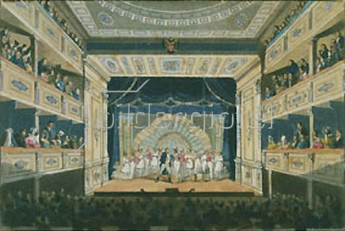 Anonym: Aufführung von Ferdinand Raimund's Der Bauer als Millionär im Leopoldstäd