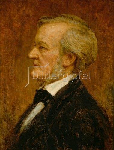 Anonym: Bildnis Richard Wagner.  19. Jahrhundert