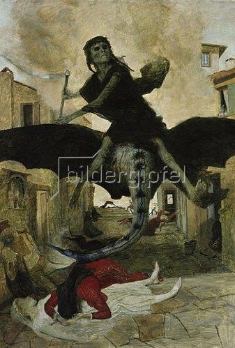 Arnold Böcklin: Die Pest. 1898.
