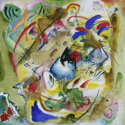Wassily Kandinsky: Träumerische Improvisation. 1913