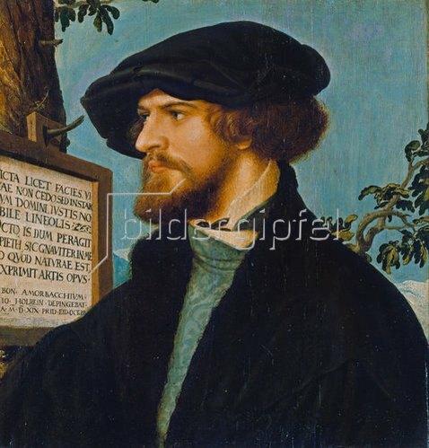 Hans Holbein d.J.: Bonifatius Amerbach.