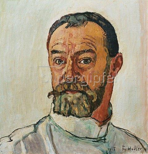 Ferdinand Hodler: Selbstbildnis 1915.