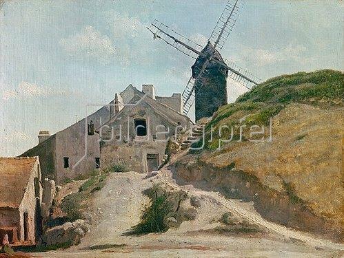 Jean-Baptiste Camille Corot: Moulin de la Galette.