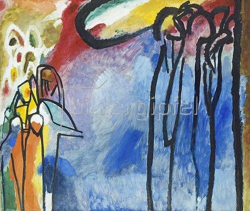 Wassily Kandinsky: Improvisation 19. 1911