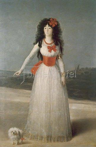 Francisco José de Goya: Die Herzogin von Alba. 1795.