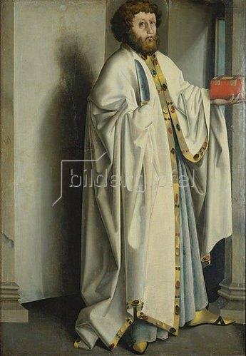 Konrad Witz: Der hl. Bartholomäus.