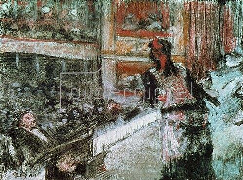 Edgar Degas: In der Oper.