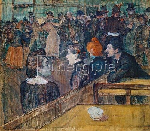Henri de Toulouse-Lautrec: Moulin de la Galette. 1889.