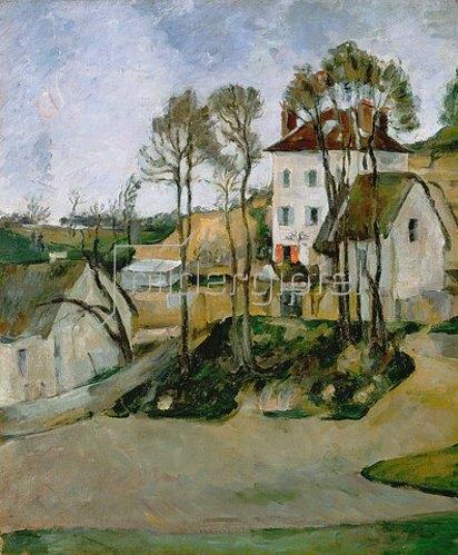Paul Cézanne: Das Haus des Dr. Cachet in Auvers.