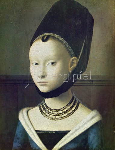 Petrus Christus: Bildnis einer jungen Frau. Um 1470