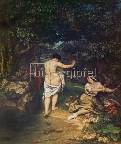 Gustave Courbet: Die Badenden.