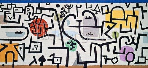 Paul Klee: Reicher Hafen (ein Reisebild). 1938