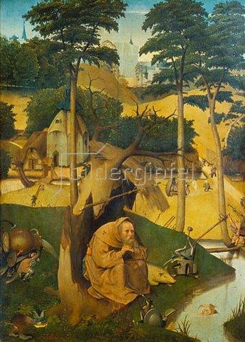 Hieronymus Bosch: Der hl.Antonius.