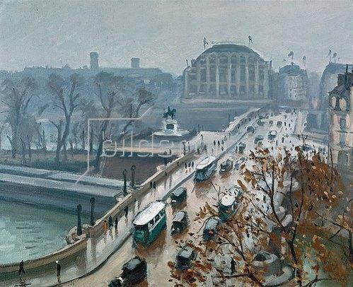 Albert Marquet: Pont Neuf im Herbst.