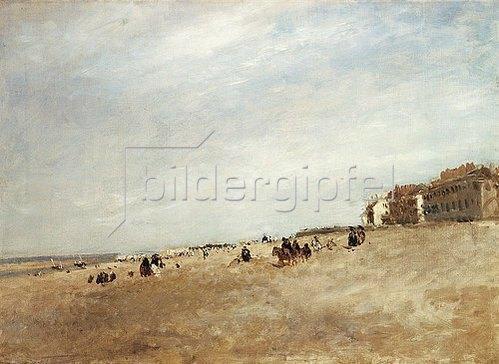 David Cox d.Ä.: Strandszene in Rhyl. 1872.