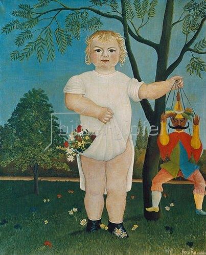Henri Rousseau: Kind mit Hampelmann. 1903