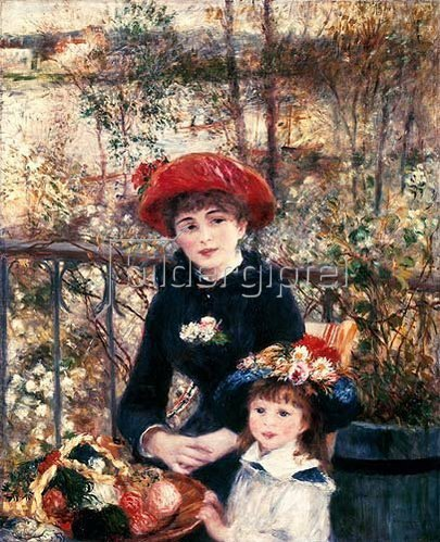 Auguste Renoir: Auf der Terrasse. 1881.