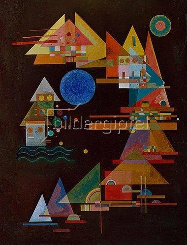 Wassily Kandinsky: Spitzen im Bogen. 1927.