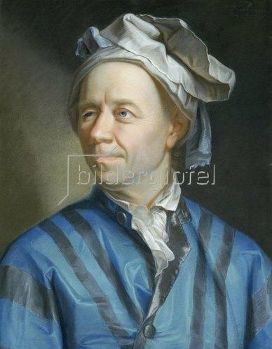 Emanuel Handmann: Bildnis des Mathematikers Leonhard Euler.