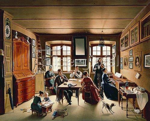 Sebastian Gutzwiller: Basler Familienkonzert. 1849.