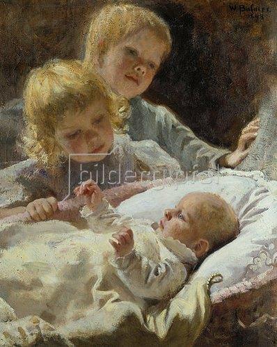 Wilhelm Balmer: Die drei Brüder. 1898.