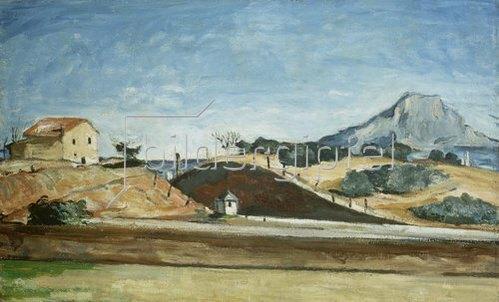 Paul Cézanne: Der Bahndurchstich. Um 1870