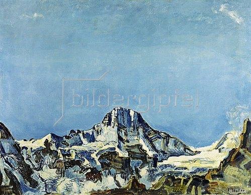 Ferdinand Hodler: Das Breithorn.