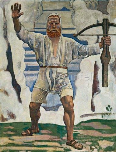 Ferdinand Hodler: Wilhelm Tell. 1897