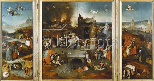 Hieronymus Bosch: Antonius-Altar. Totale.