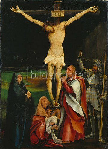 Mathias Grünewald: Kreuzigung Christi.