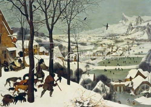 Pieter Brueghel d.Ä.: Die Heimkehr der Jäger.