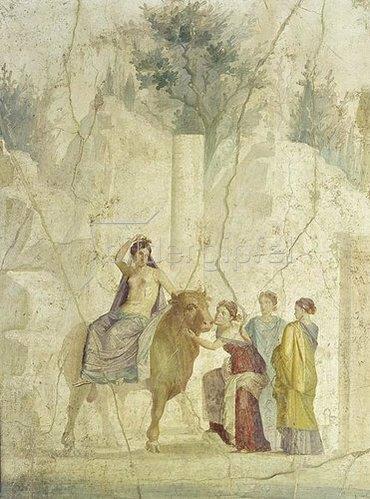 Pompeji: Der Raub der Europa.