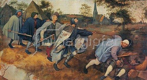 Pieter Brueghel d.Ä.: Das Gleichnis von den Blinden. 1568.