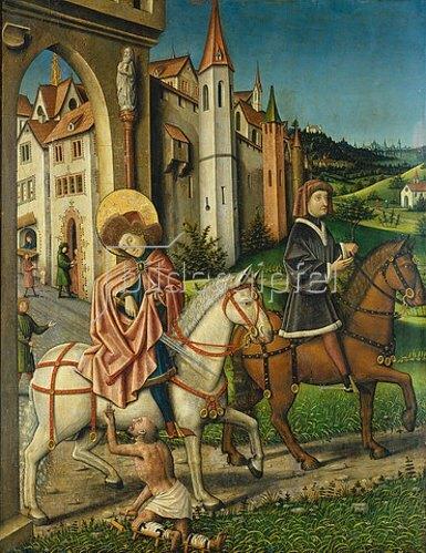 Konrad Witz: Der heilige Martin.