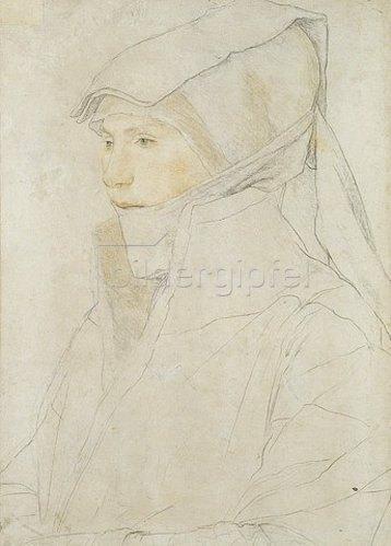 Hans Holbein d.J.: Bildnis der Dorothea Kannengiesser. 1516