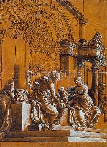 Hans Holbein d.J.: Die heilige Sippe.