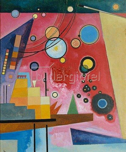 Wassily Kandinsky: Schweres Rot. 1924