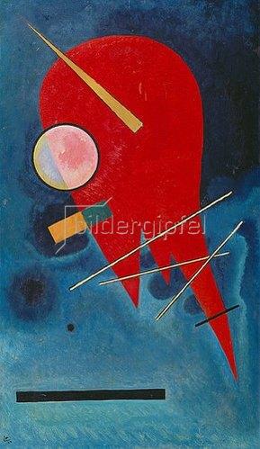 Wassily Kandinsky: Rouge. 1924.