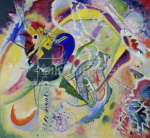 Wassily Kandinsky: Improvisation 35. 1914.
