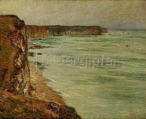 Claude Monet: Küste bei Fécamp (Temps calme). 1881.