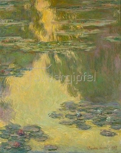 Claude Monet: Nymphéas. 1907.